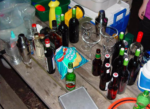 camping drinks