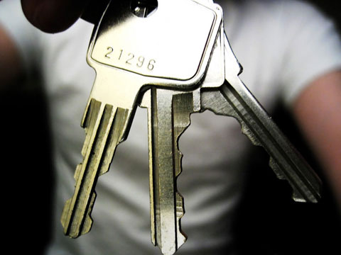 Thumbnail: Keys to my house
