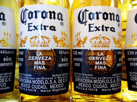 Thumbnail: Corona bottles