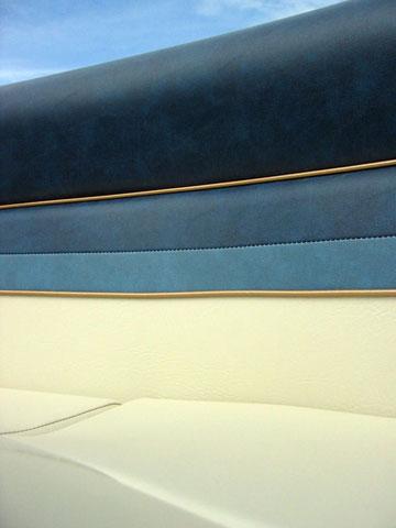 Thumbnail: Boat upholstery