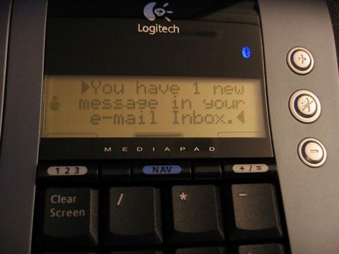 Thumbnail: LCD notification close-up