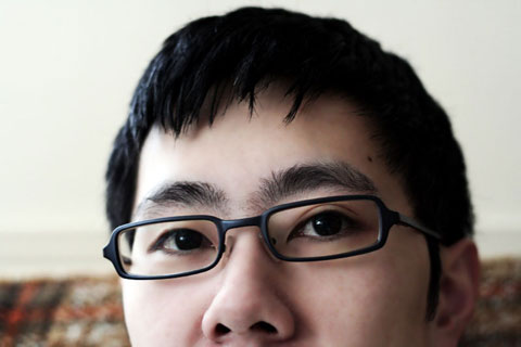 Thumbnail: Me with new glasses