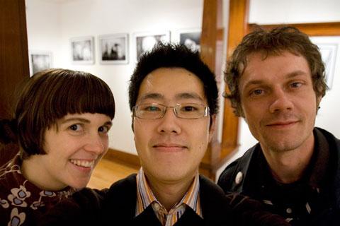 Thumbnail: Krista Muir, me, Shane Watt
