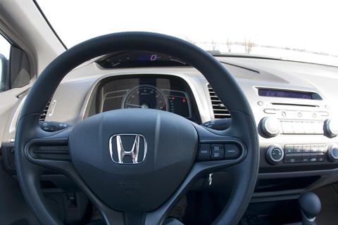 Honda Civic 2008 dashboard