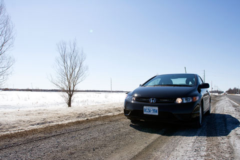Honda Civic 2008 exterior