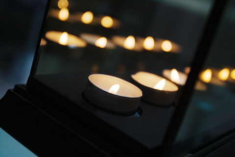 Thumbnail: Infinity candle holder