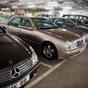 Thumbnail: Row of Mercedes