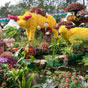 Thumbnail: Flower statues