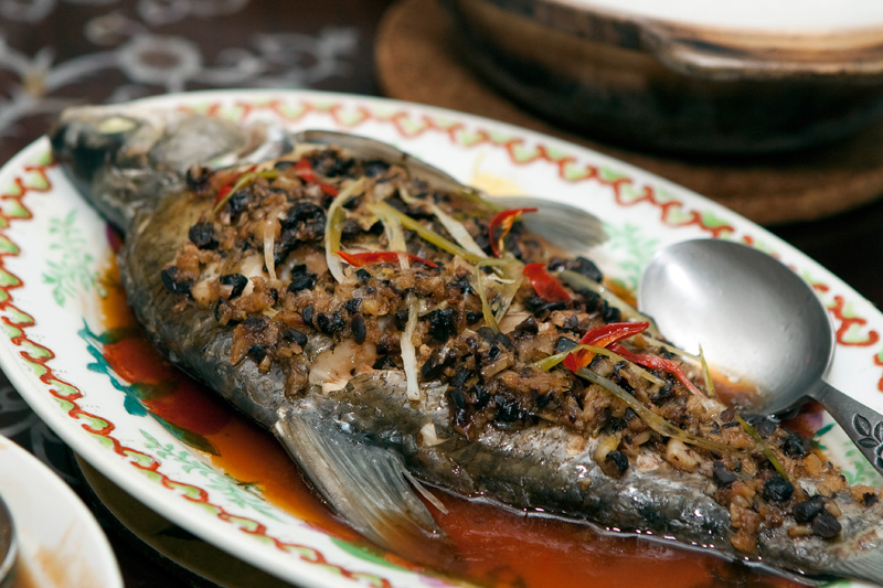 steamed fish with black bean fish with black bean sauce steamed fish ...