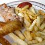 Thumbnail: Pork chop, wings, and fries