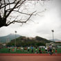 Thumbnail: Soccer against mountain