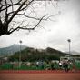 Thumbnail: Soccer against mountain