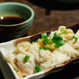 Thumbnail: Won ton with spicy sauce