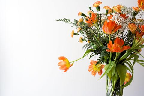 Tulip carnation bouquet