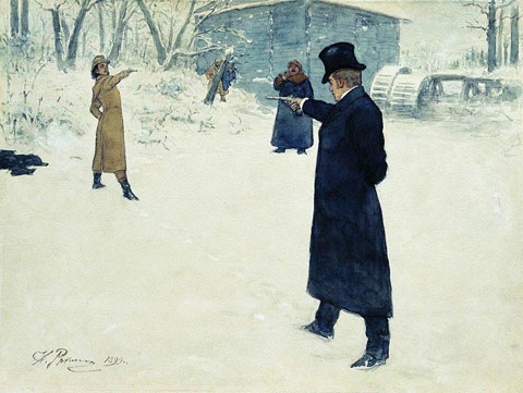 Onegin painting