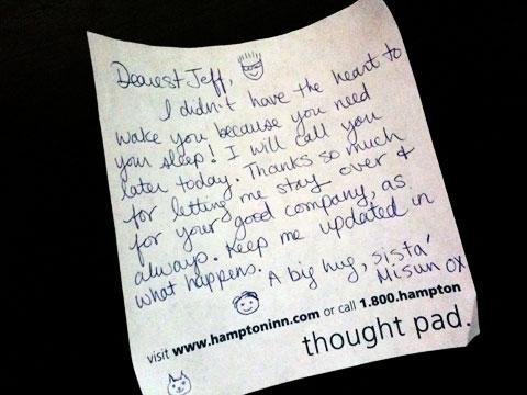 Misun's note