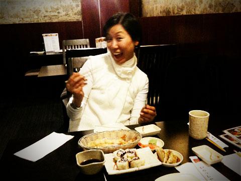 Sushi with Misun