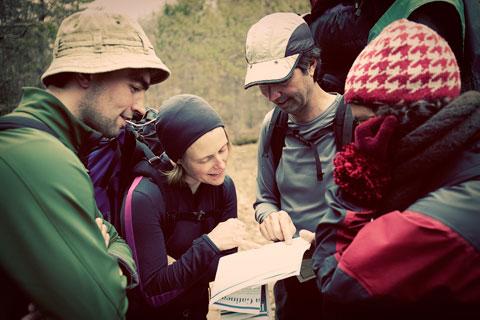 Thumbnail: Checking the map