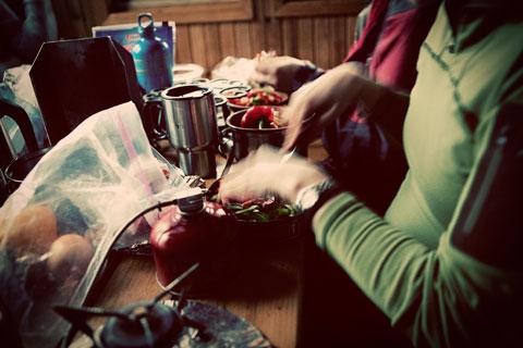 Thumbnail: Cutting vegetables