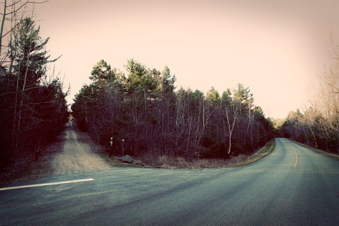 Thumbnail: Fork in the road