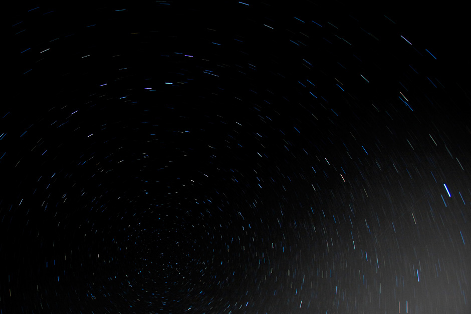 10 minute star trails