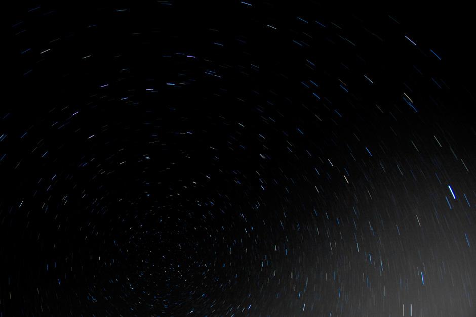 10 minute star trails