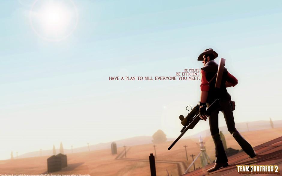 tf2 meet the sniper real life