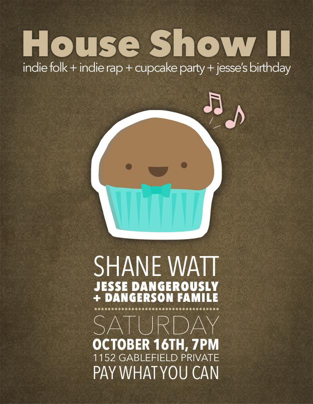 second house show flier