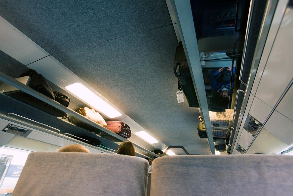 Eurostar compartments