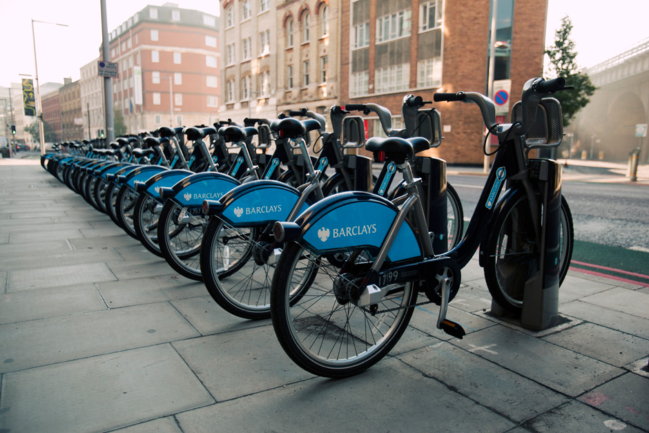 Barclay's bikes