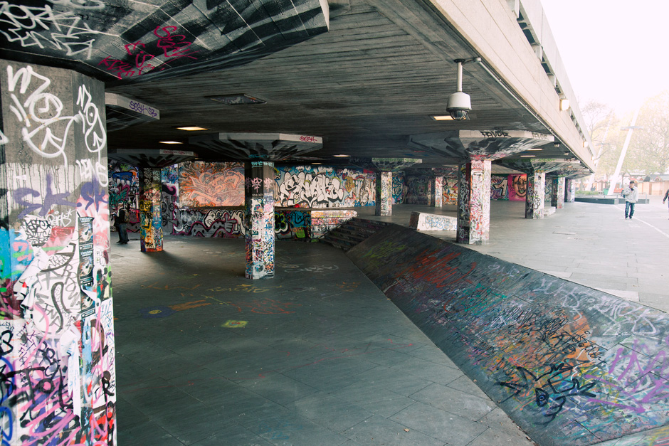 South Bank graffiti 2
