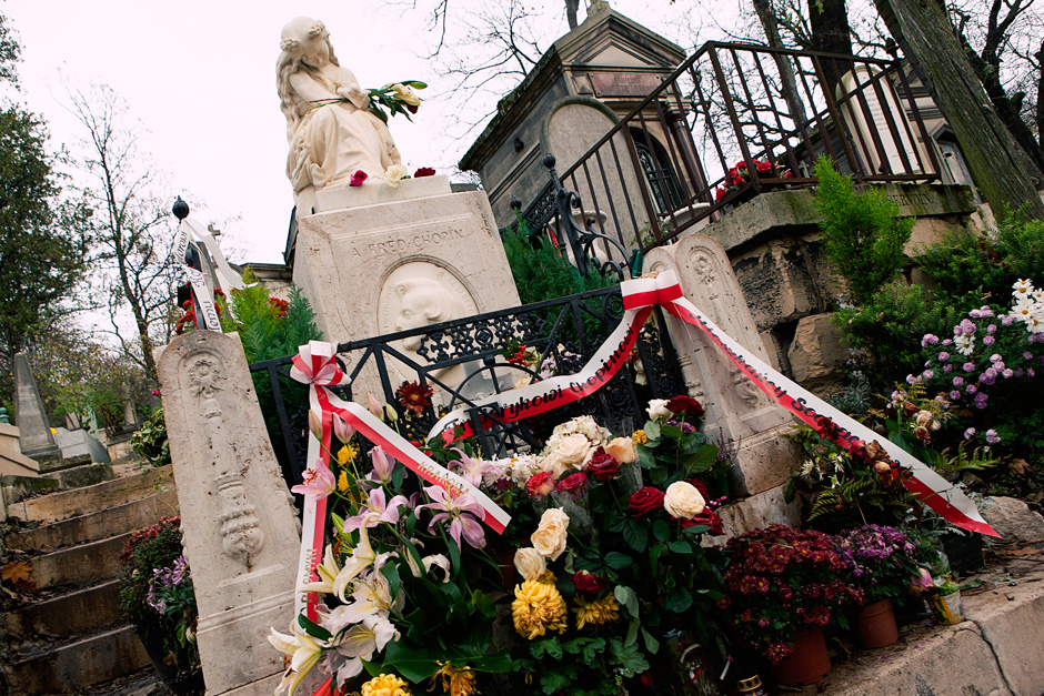 Frederic Chopin's grave