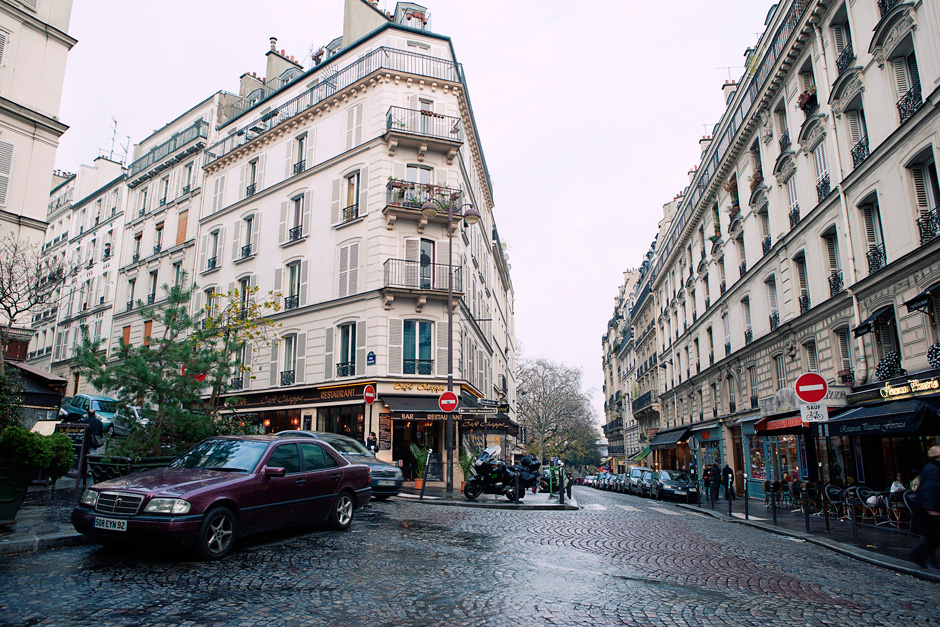 Montmartre intersection
