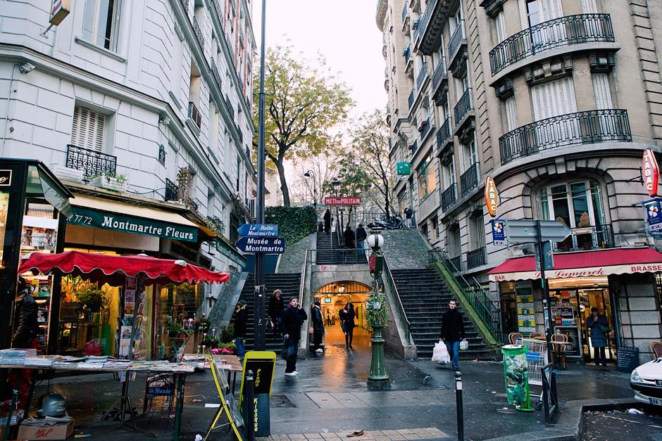 Montmartre metro