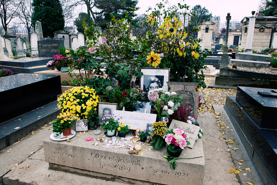 Serge Gainsbourg's grave