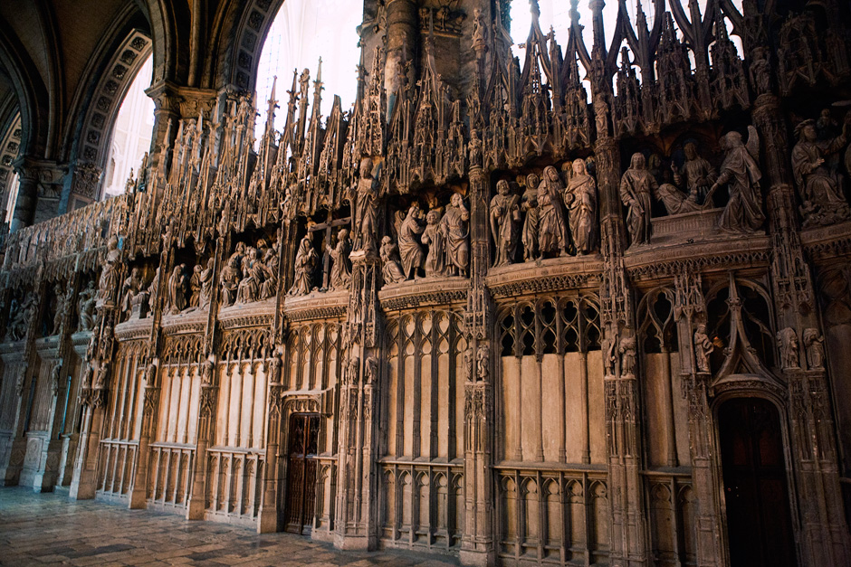 Chartres Cathedral - choir screen