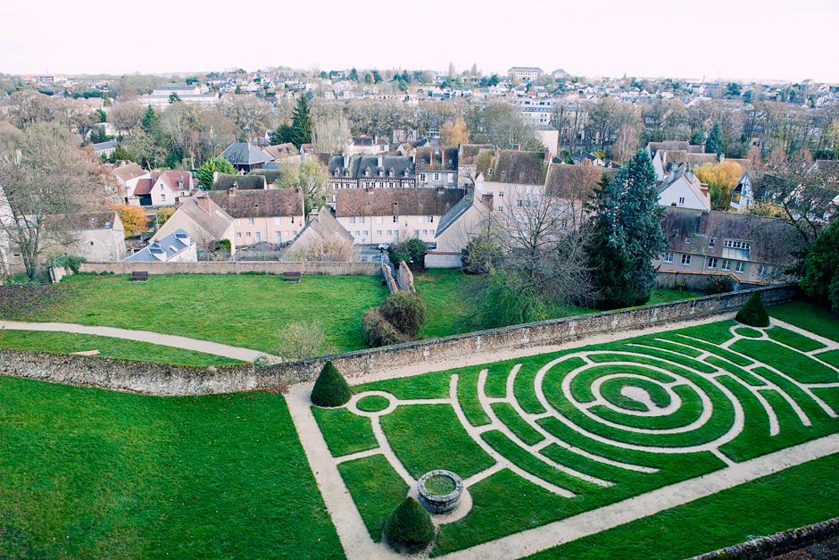 Chartres Cathedral - garden