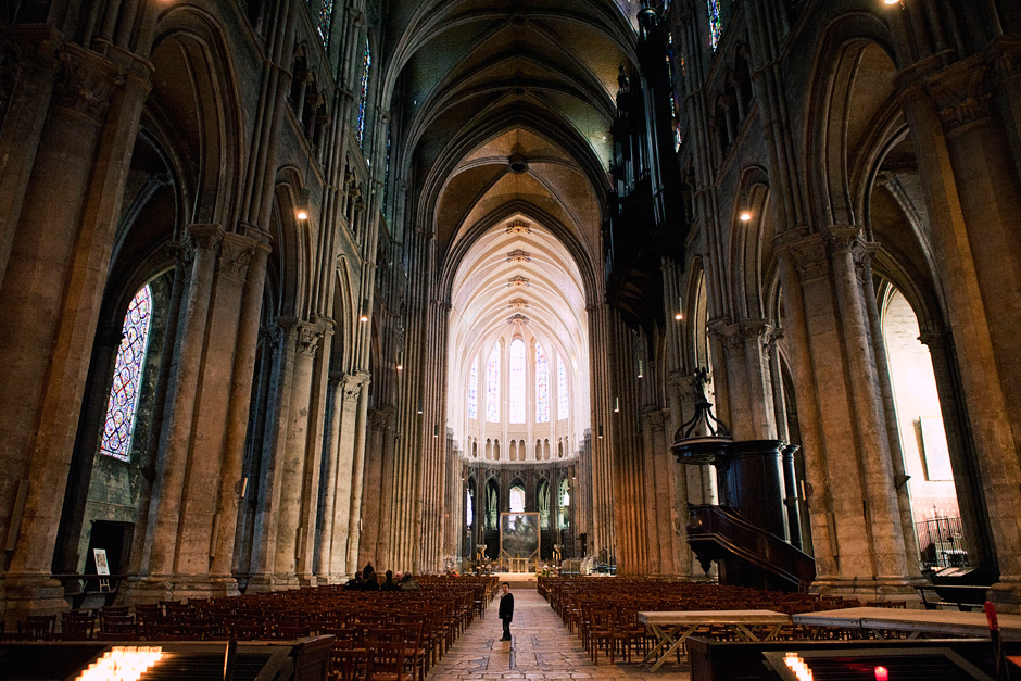 Chartres Cathedral - main hall