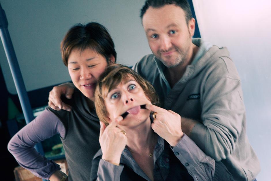 Misun, Emmanuelle, and Frederic