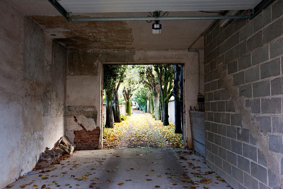 garage path