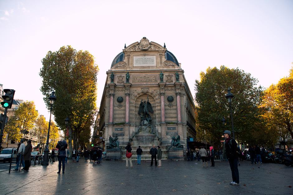 Fountain of Saint Michel