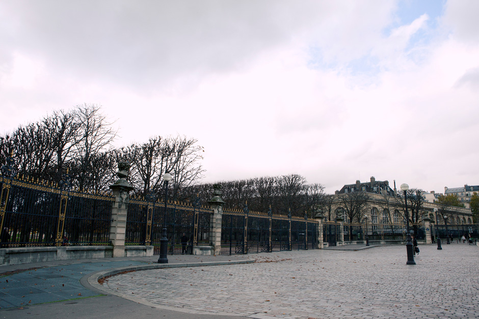 gates of the Jardin du Luxembourg