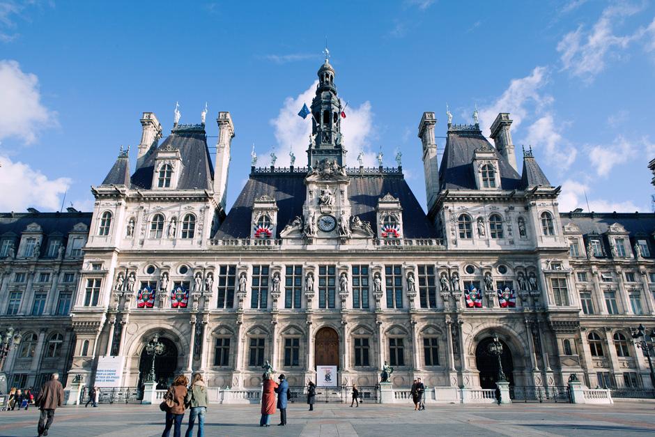 Hotel de Ville front