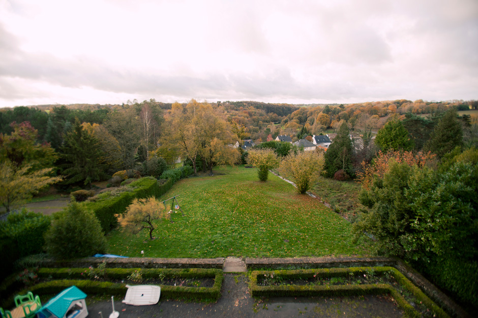 villa back view