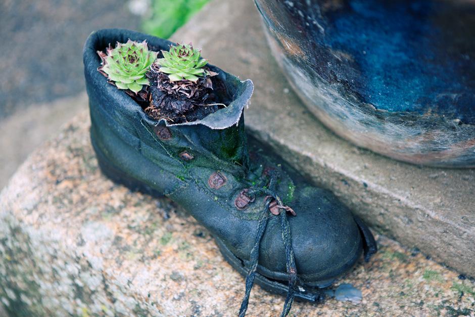 shoe pot