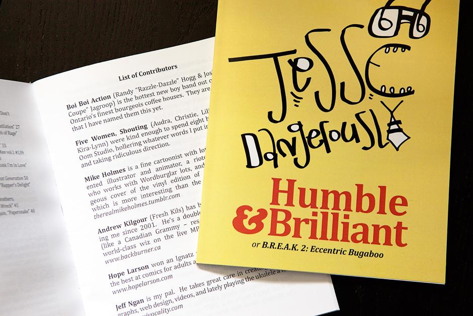 Humble & Brilliant chapbook