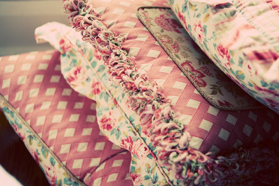 Blakemore House pillows