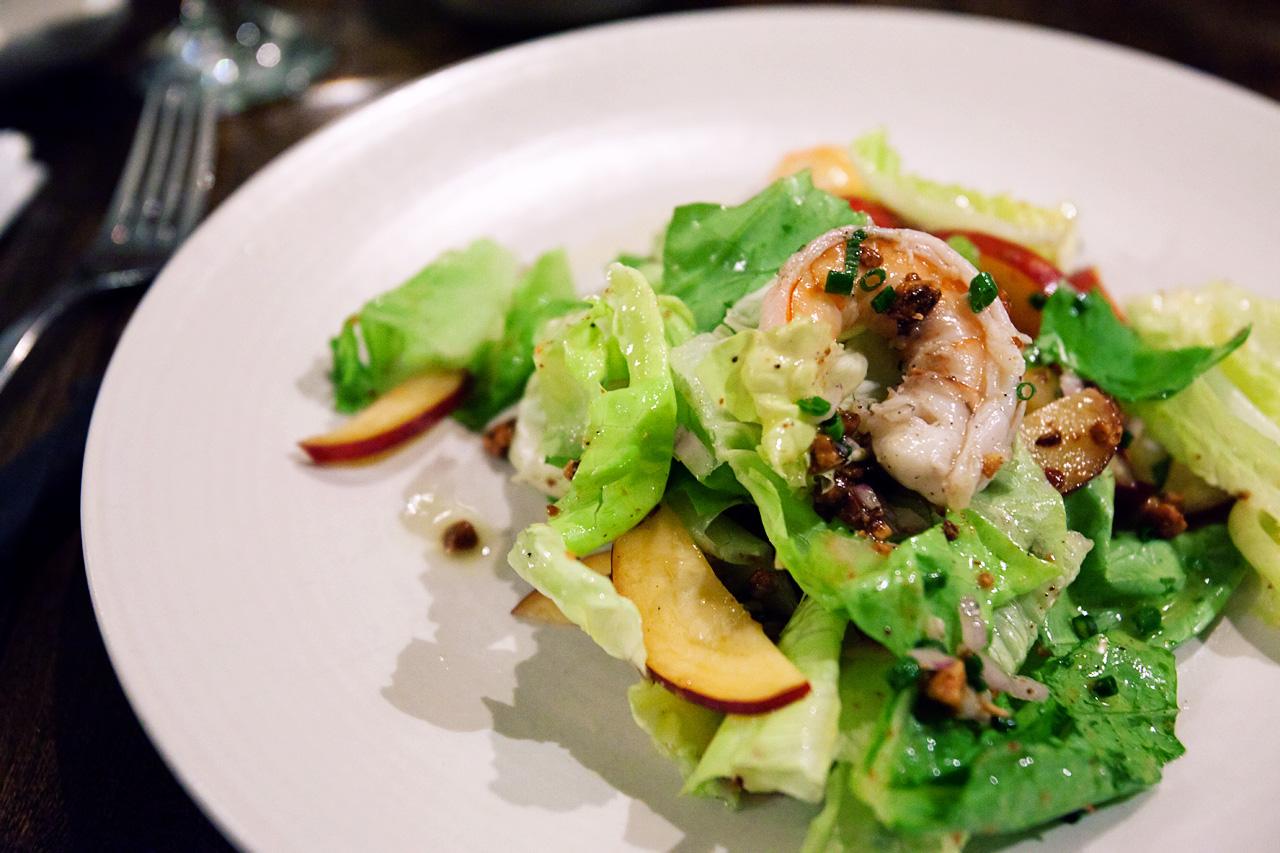 poached shrimp salad