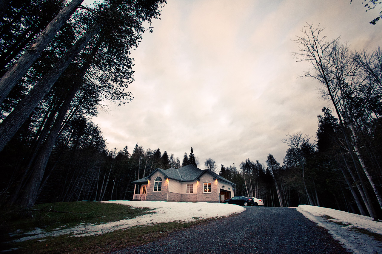 house in the woods