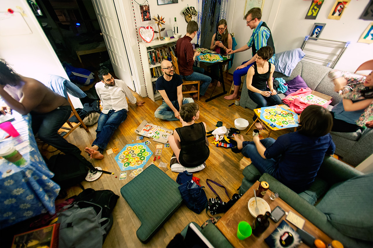 Image result for playing settlers of catan